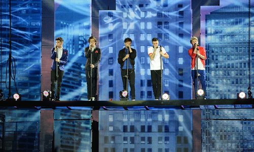"One Direction on their ""Take Me Home"" Tour"